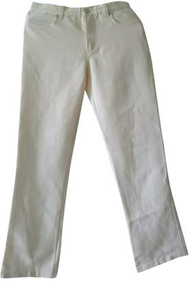 Max Mara Yellow Cotton - elasthane Jeans for Women