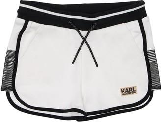 Karl Lagerfeld Paris Cotton Sweat Shorts