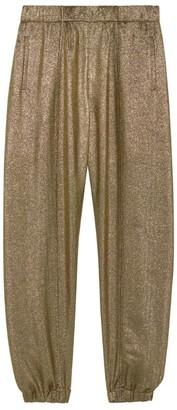 Saint Laurent Metallic Sweatpants