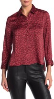 Equipment Huntley Floral Collared Blouse