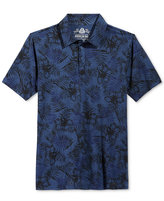 American Rag Men's Tonal Floral-Print Polo, Only at Macy's