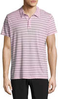 Save Khaki Men's Surf Stripes Cotton Polo