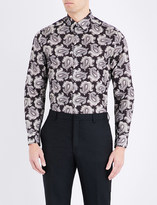 Paul Smith Slim-fit floral-print cotton shirt