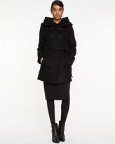 Le Château Melton Wool Hooded Coat