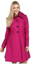 Nicole Miller Single Breasted Skirted Coat