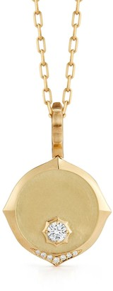 Jade Trau Sophisticate Yellow Gold Necklace