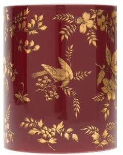 Fornasetti Coromandel Otto-scented Triple-wick Candle - Red
