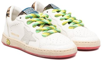 Golden Goose Kids Bright Laced Trainers