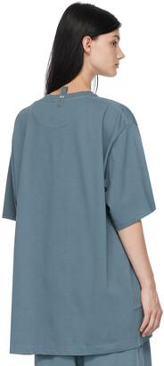 Marc Jacobs Blue 'The Big T-Shirt' T-Shirt