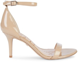 Sam Edelman Patti Patent Ankle-Strap Sandals