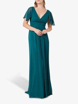 Maids To Measure Caroline Dress, Forest Green