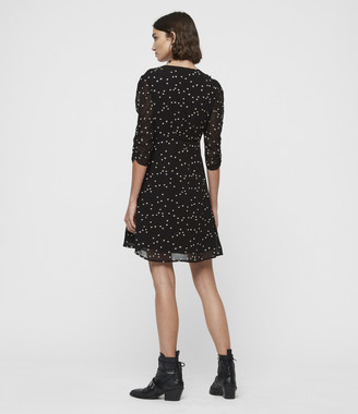 AllSaints Malie Hearts Dress