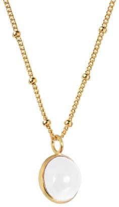 Mirabelle Jewellery Magic Crystal Ball Clear Quartz Pendant