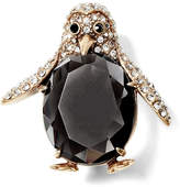 Banana Republic Pave Penguin Brooch