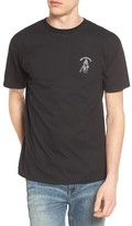Obey Men's Snake Eye Embroidered T-Shirt