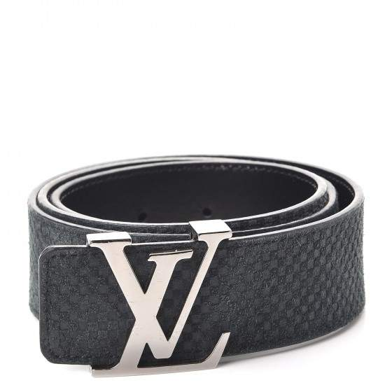 Belt Initiales Damier Mini Noir Black