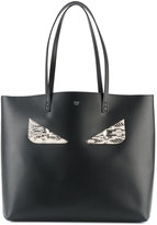 Fendi Bag Bug shopper - women - Calf Leather/Feather - One Size