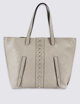 Marks and Spencer Faux Leather Shopper Bag