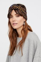 Free People Printed Velvet Turban