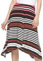Apt. 9 Women's Shark-Bite Midi Skirt