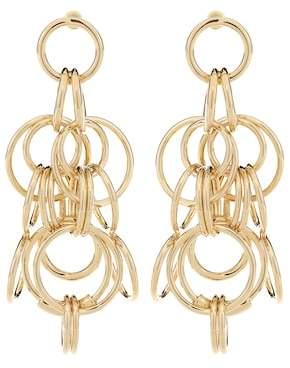 Chloé Drop hoop earrings