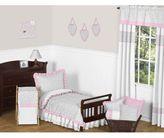 Sweet Jojo Designs Pink and Grey Kenya Toddler Bedding Collection