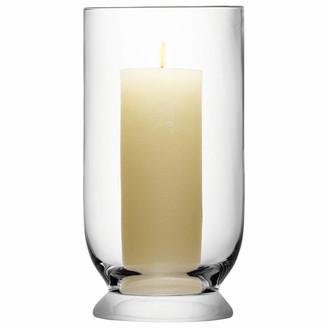 LSA International 30cm Medium Terrace Glass Storm Lantern - Glass