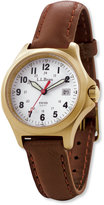 L.L. Bean Women's Classic Field Watch, Gold-Plated