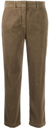 Aspesi Cropped Corduory Trousers