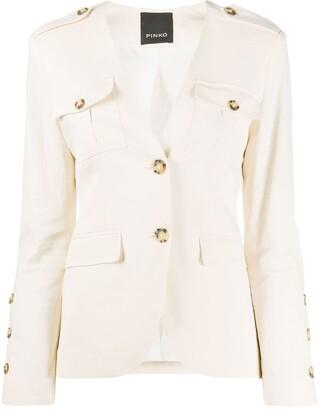Pinko Etabeta multi-pocket blazer