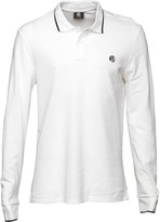 Paul Smith Mens Regular Fit Long Sleeve Polo White