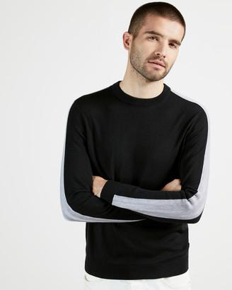 Ted Baker KARMEL Crew neck with overarm stripe