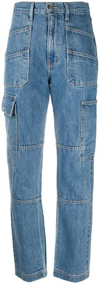 Silverlake High-Rise Panelled Jeans