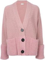 Moncler oversize buttoned cardigan - women - Cashmere/Virgin Wool - S