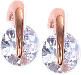 Givenchy Rose Gold-Tone Prong Stud Earrings
