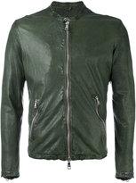 Giorgio Brato - zipped jacket - men - Leather/Nylon - 52