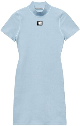 alexanderwang.t Xenon Blue Tee Dress