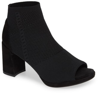 Eileen Fisher Margate Peep Toe Bootie