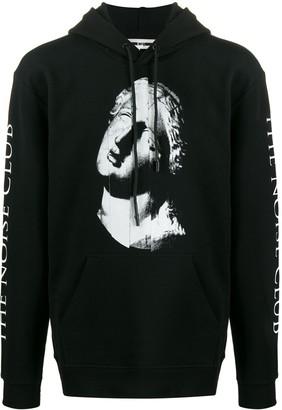 McQ Long Sleeve Printed Hoodie