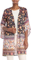 Angie Floral Open Duster