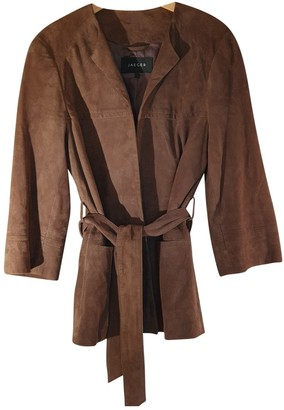 Jaeger Brown Suede Jacket for Women