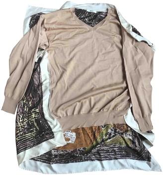 Celine Beige Silk Knitwear for Women