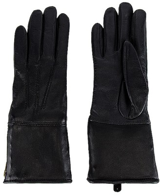 Mackage Willis Shearling Leather Glove