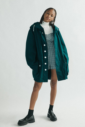 Urban Renewal Vintage Recycled Overdyed Swedish Parka Jacket
