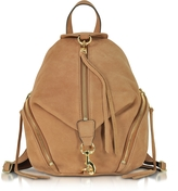 Rebecca Minkoff Almond Nubuck Medium Julian Backpack