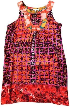 Calypso St. Barth Red Silk Dress for Women