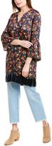 Johnny Was 3J Workshop Silk-Blend Tunic Shift Dress