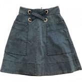 Lover Blue Denim - Jeans Skirt for Women