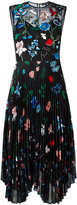 Markus Lupfer embroidered garden 'Savannah' dress - women - Silk/Polyester/Spandex/Elastane - XS