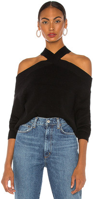 Line & Dot Ariana Cold Shoulder Sweater